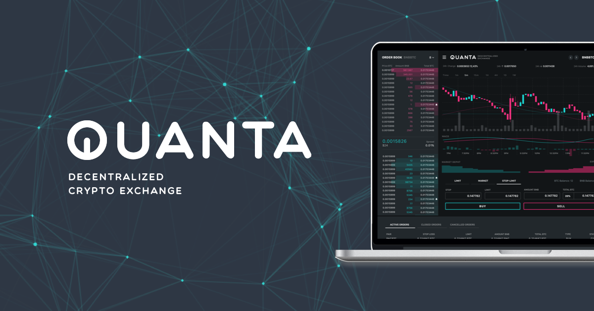 QUANTA : Cryptocurrency Trading With Community-Driven Decentralized Exchange