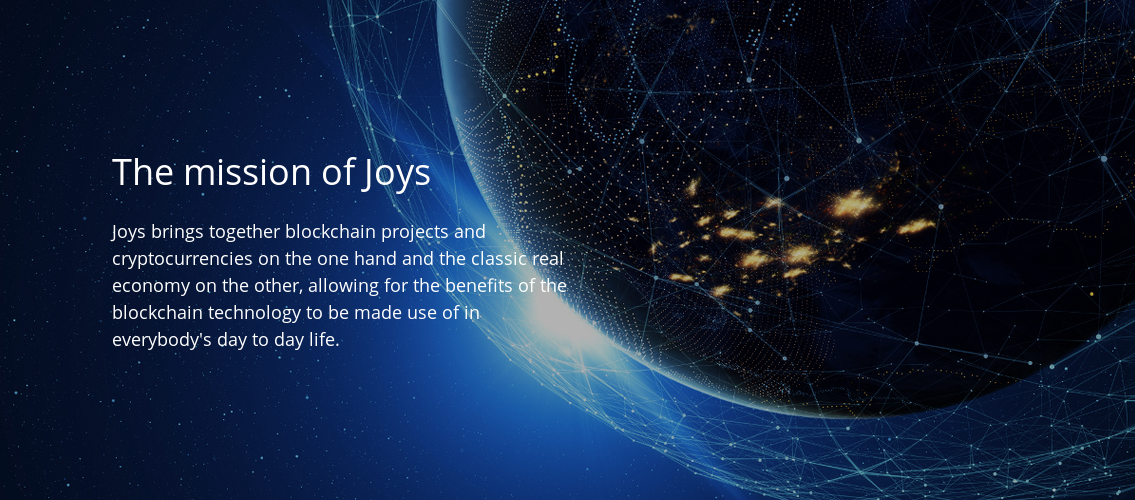 JOYS: Transforming Digital Money Into Real Goods