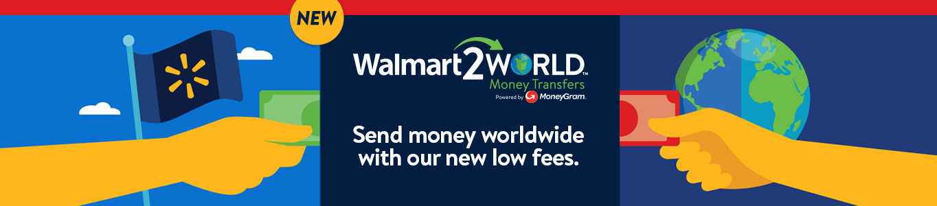 can you send money to yourself at walmart
