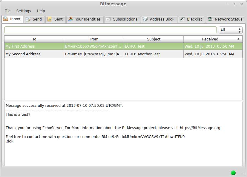 ELI5 What is Bitmessage?